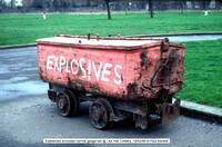 Explosives narrow gauge tub @ Lea Hall Colliery  90-02-19 � Paul Bartlett w