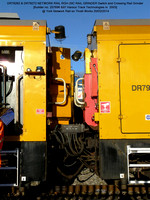 DR79262 & 79272 Harsco Switch & Crossing Rail Grinder @ York NR Thrall Works 2014-02-20 [02w]