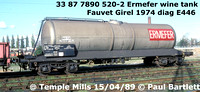 Ferry Chemical & Food tank wagons