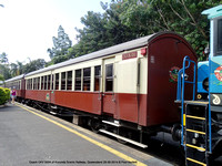 Coach CKV 5004 of Kurunda Scenic Railway, Queensland 28-09-2014 � Paul Bartlett DSC06306