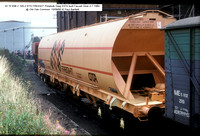 33 70 938 2 105-2 STS FREIGHT Polybulk Diag E574 @ Old Oak Common 85-09-15 � Paul Bartlett w