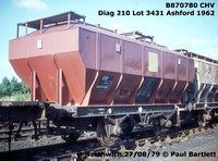 BR Special covered merchandise wagons