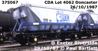 BR covered hopper wagon for English China Clay CDA