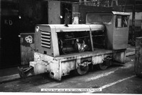 Joe Narrow Gauge Loco @ Lea Hall Colliery 90-02-19 � Paul Bartlett w