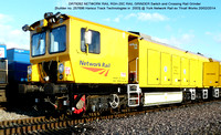 DR79262 Harsco Switch & Crossing Rail Grinder @ York NR Thrall Works 2014-02-20 [01w]