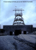 Winding @ Lea Hall Colliery  90-02-19 � Paul Bartlett [1w]