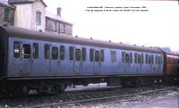 Unidentified Mk 1 Second Lavatory Open Pres @ Keighley & Worth Valley Rly 73-08-26 � Paul Bartlett w