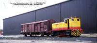 Hercules RH 0-4-0 21 87 238 0670-7 @ Selby Storage 88-04-11 � Paul Bartlett [2w]