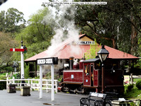 7A on Puffing Billy Railway at Menzies Creek 19-09-2014 � Paul Bartlett