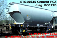 STS 106xx & 740xx Rugby Cement French built Presflo PCA