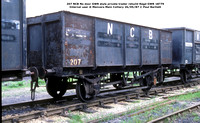 207 NCB ex Private Trader GWR style Internal user @ Manvers Main Colliery 87-05-26 © Paul Bartlett w
