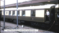 Conserved (preserved) mainline registered coaches