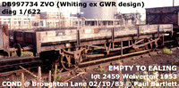 BR GWR Whiting S&T open ZVO & Minnow ZCO