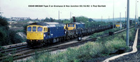 33049 BRC&W Type 3 @ Hoo Junction 82-10-03 © Paul Bartlett w