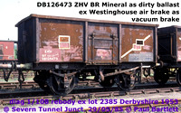 BR 16T Mineral ex Westinghouse Air brake SAB ZHV
