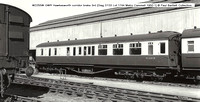 W2255W GWR Hawkesworth corridor brake 3rd Diag D133 � Paul Bartlett Collection w