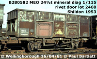 BR 24½t mineral MEO B280000 - 3394