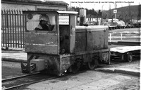 Narrow Gauge Hunslet Loco @ Lea Hall Colliery  90-02-19 � Paul Bartlett [4w]