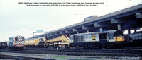 58003 Markham Colliery breakdown train @ Washwood Heath 90-02-19 � Paul Bartlett