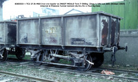 B383533 = TC2 MSO INGOT MOULD Internal @ Pitstone Tunnel Cement 91-01-26 © Paul Bartlett w