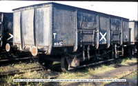 W63036 = NCB42 ex GWR-PO 2 small door mineral @ NCB Bargoed 81-09-25 � Paul Bartlett w