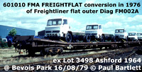 BR Freightflat lorry carrier carrier FMA