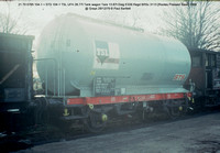 21 70 0785 104-1 = STS 104-1 TSL UFH Tank wagon @ Grays 79-12-29 � Paul Bartlett [1w]
