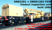 DR82xxx BR Viaduct inspection units  YXW