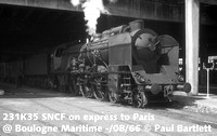 SNCF Steam, diesel, electric locomotives 1966-67