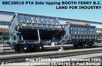 Side tipping wagon for Booth and Thompson PTA 28000 - 11