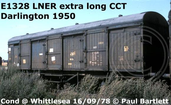 Paul Bartlett S Photographs Lner 4 Wheel Npccs Cct C And