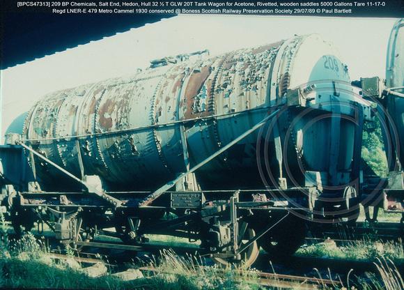 Paul Bartlett's Photographs   BPCS Distillers/ BP Chemicals Salt End