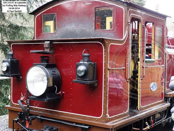 12A at Lakeside on Puffing Billy Railway 19-09-2014 � Paul Bartlett [1]