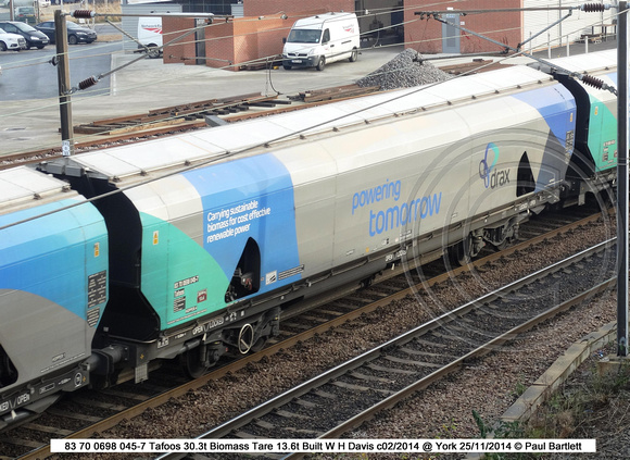 83 70 0698 045-7 Tafoos Biomass @ York 2014-11-25 © Paul Bartlett w