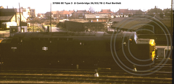 37086 EE Type 3  @ Cambridge 78-03-26 © Paul Bartlett [1w]