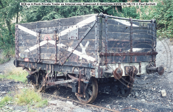 NCB ex Internal user Preserved @ Oxenhope KWVR 73-08-26 © Paul Bartlett w