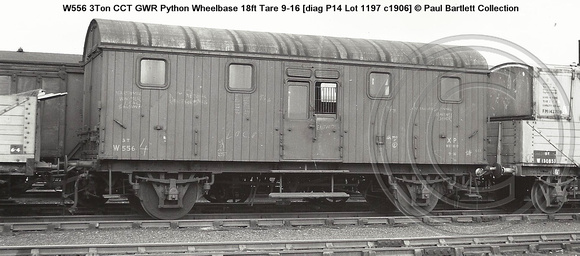 W556 CCT GWR Python diag P14 � Paul Bartlett Collection w
