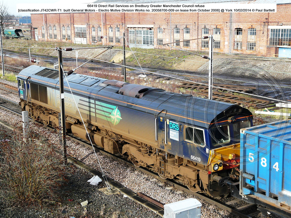 66419 on refuse @ York 2014-02-10  � Paul Bartlett [05w]