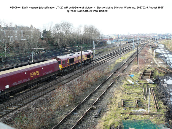 66009 on EWS Hoppers @ York 2014-02-10  � Paul Bartlett [1w]