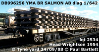BR Salmon with 5ft. wb bogie YMA YMO