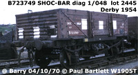 BR 12t 5 plank shock open merchandise wagon OSV ZGV