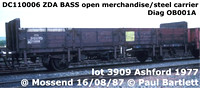 BR Bass - air braked engineers wagon ZDA