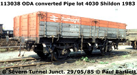 BR ODA Air braked Pipe wagons