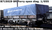 BR Special open merchandise wagon