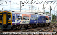 158 784 Barbara Castle 52784 + 57784 Express Sprinter Northern Rail @ Carlilse 2015-08-11 © Paul Bartlett [1w]