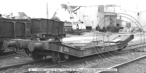 No. 1 = E260865 Lowmac EP Internal @ UES Aldwarke Works 94-06-24 � Paul Bartlett [2w]