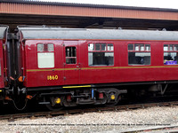 1860 Mk 1 Restaurant Miniature Buffet owned West Coast Railway Company [built Diag 99 Lot 30670 Wolverton 1961] @ York Station 2016-06-18 © Paul Bartlett [4w]