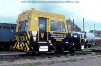 DR50011 Matisa Neptune Track Recording Trolley @ Gloucester Loco 86-08-29 � Paul Bartlett w
