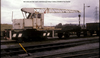 4wh crane and 4wh coach @ Onllwyn Colliery 86-04-27 � Paul Bartlett [2w]