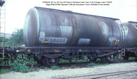 PR55222 Petroleum ex Elf VIP Class A tank @ Gloucester Procor 86-05-23 � Paul Bartlett w